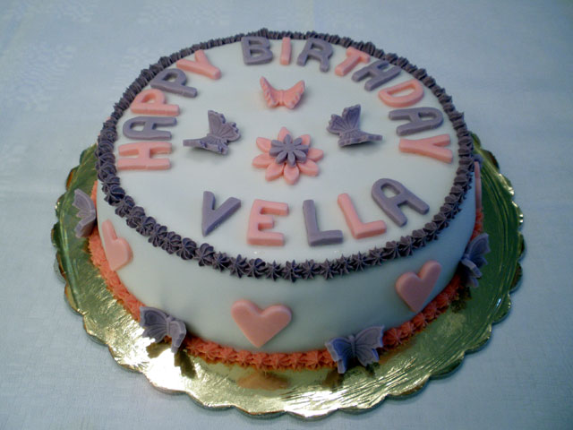 Vella's Birthday