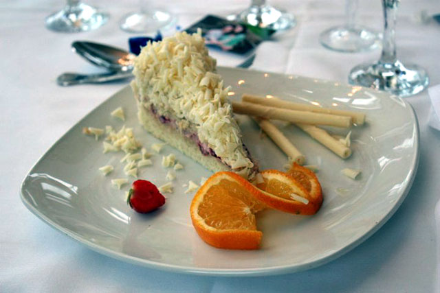 Giulia's Wedding Cake - On A Plate